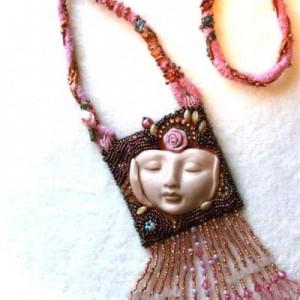 Pink Copper Goddess Jewelry Idea