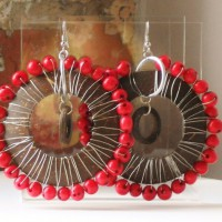 Nuts & Berries Acai Berry And Coconut Earrings Project