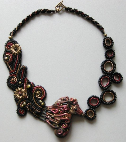 Seahorse Necklace Project