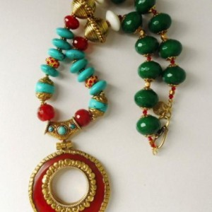 The Krishna Indian Deity Necklace Project Idea