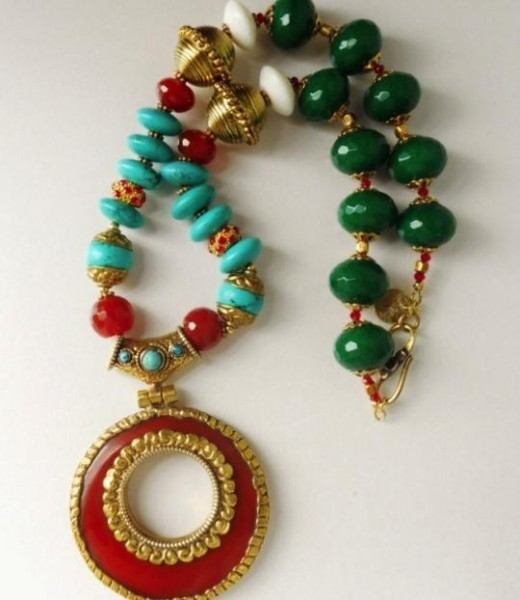 The Krishna Indian Deity Necklace Project