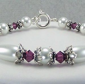 Birthstone Bracelet Jewelry Idea