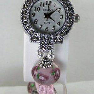 Beaded Watch Jewelry Idea