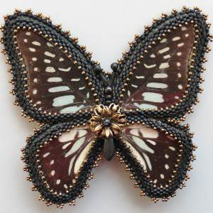 Butterfly Brooch Project Idea