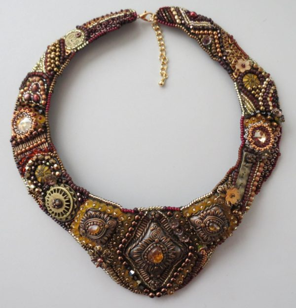 Fall Steampunk Collar Necklace Project