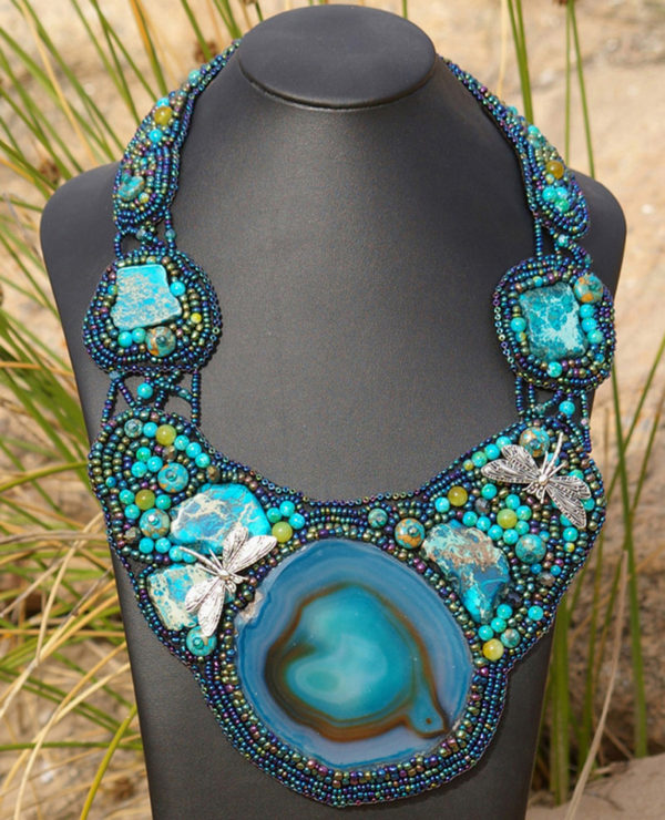 Dragonfly Billabong Necklace Project